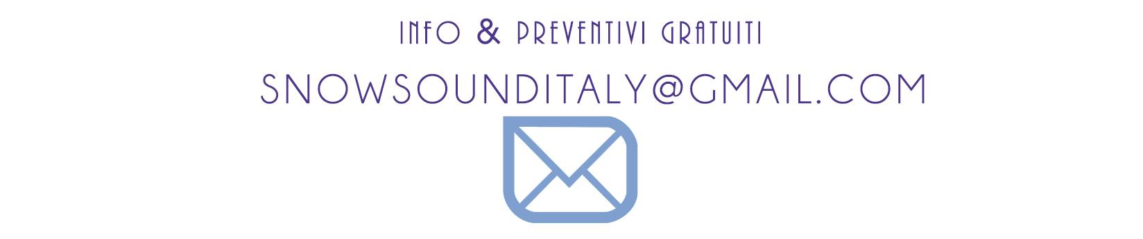 Info e Preventivi Gratuiti